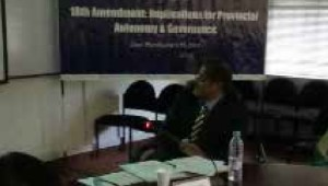 Mr. Zafarullah Khan, Executive Director, Centre for Civic Education was invited by CPPG to deliver a talk on 18th Amendment: Implications for Provincial Autonomy and Governance on April 14, 2014, […]