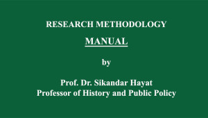 Prof. Dr. Sikandar Hayat wrote this Manual for the students of Research Methodology/Methods at the FC College (A Chartered University), Lahore. No part of this Manual may be quoted, cited […]