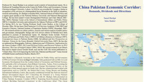 "The CPPG's monograph ""China Pakistan Economic Corridor: Demands, Dividends and Directions"" has been published and is available for purchase at the Centre for Public Policy and Governance, Room E-017 Elahi […]"