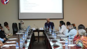 "On 25th March 2019, Professor Mathew McCartney visited the CPPG to deliver a seminar on ""CPEC, Sustainable Economic Growth and Industrial Policy in Contemporary Pakistan."" Professor Mathew McCartney is Associate Professor […]"