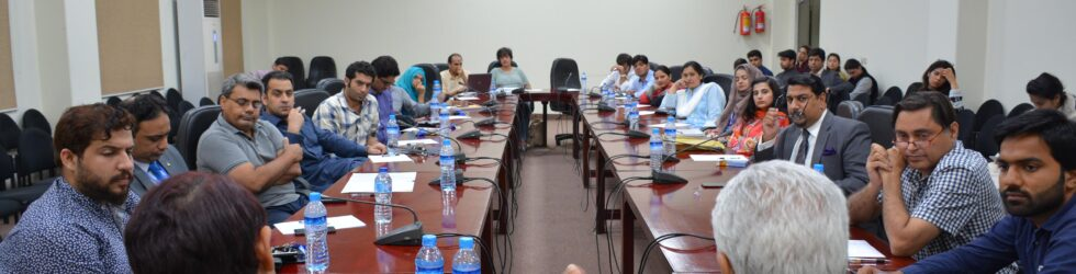 "On the 1st of October 2019, the CPPG invited Dr. Rabia Akhtar to speak on the ""Status of Archival Research in Pakistan: Strategic Studies and Beyond."" Dr. Akhtar is Director, […]"