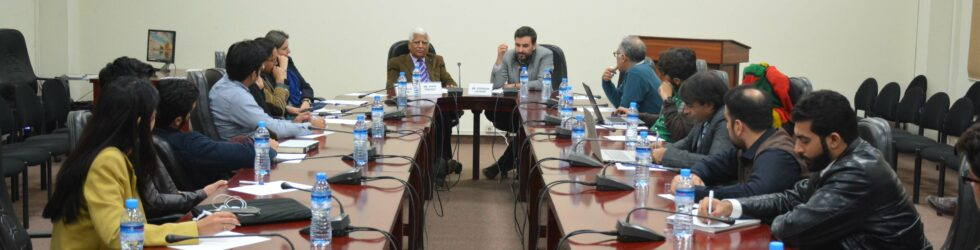 """On 26th of November, CPPG invited Dr. Stephane Lacroix to speak about """"The Transformation of Political Islam"""" at FC College. Dr. Lacroix is an Associate Professor at the Paris School […]"""